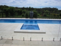 Lap Pool with Spa