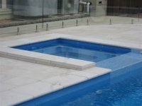 Square Spa with Pool