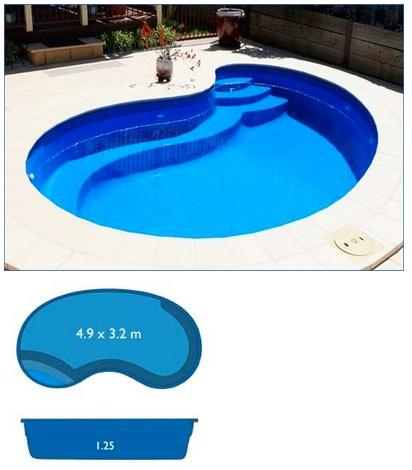 Miami Pool Range Harvest Pools Fibreglass Swimming