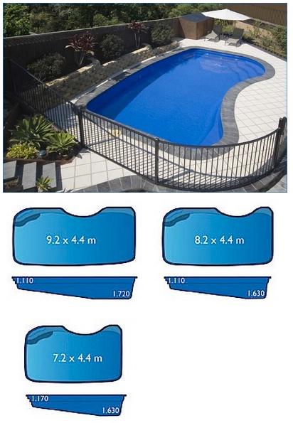 Oz Range Harvest Pools Fibreglass Swimming Pools Bermuda Pools